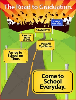 Road to Graduation Poster