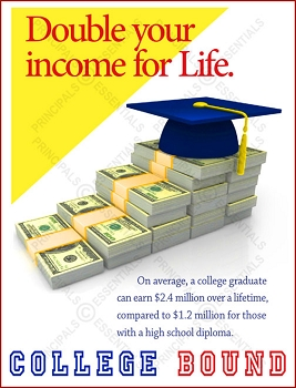 Double your income for Life Poster