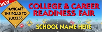 College & Career Readiness Fair Banner