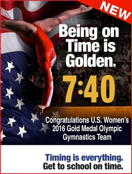 Women's 2016 Gold Medal Gymnastics Team