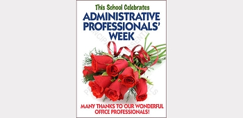 Administrative Professionals' Week Poster