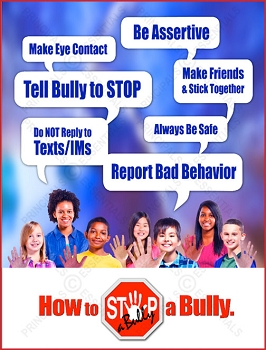 STOP-a-Bully Quotes Poster