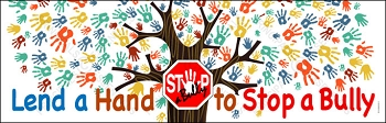 STOP-a-Bully Tree Vinyl Banner