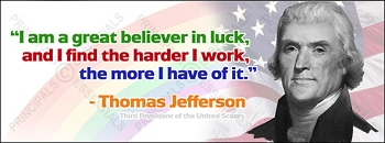 Thomas Jefferson<br>Vinyl Banner