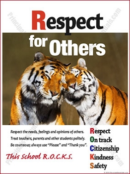 Respect for Others Poster