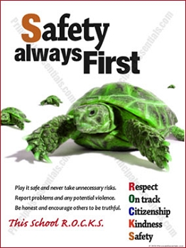 Safety always First Poster