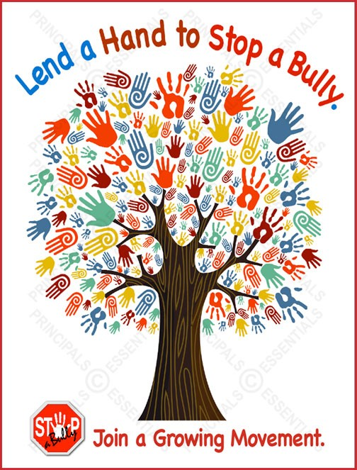 STOP-a-Bully Tree Poster