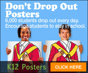 Don't Drop Out Posters