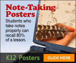 Note-Taking Posters