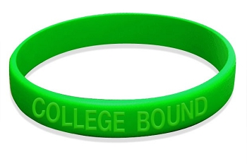 College Bound Wristbands (50 Wristbands)