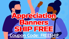 Appreciation Banners