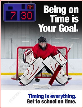 Men's Hockey Tardy Poster