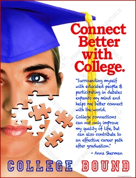 Connect Better with College Poster