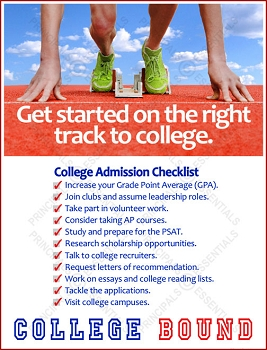 Right Track to College Poster