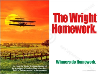 The Wright Homework.