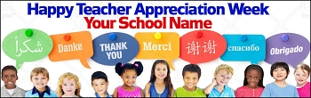 Multicultural Thank You Banner