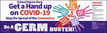 Germ Buster COVID-19 Banner