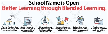 Better Blended Learning Vinyl Banner