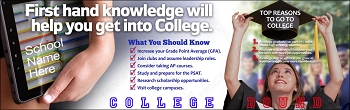 First Hand College Knowledge Banner