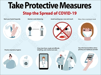 Take Protective Measures Poster