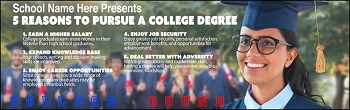 Pursue College Banner