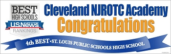 USA Today Best Rank-Cleveland NJROTC Banner