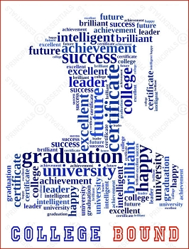 Inspiring Graduation Words Poster