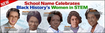 Black History's Women of STEM Banner