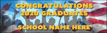 Show Your Pride Graduation Vinyl Banner