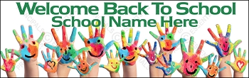 Hello Hands School Banner