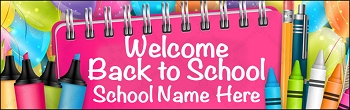 Welcome Notepad Banner