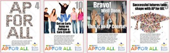 Advanced Placement For All, NYC DOE Posters