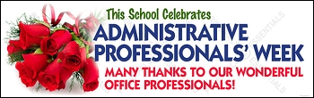 Administrative Professionals' Week Banner