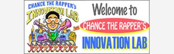 Chance the Rapper's Innovation Lab Banner