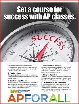 Advanced Placement Compass Poster