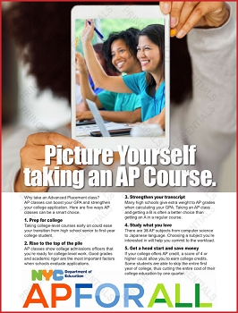 Advanced Placement Picture Poster