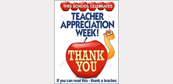Teacher Appreciation Worm Poster