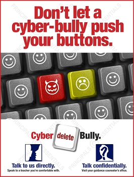 Don't let a cyber-bully push your buttons.