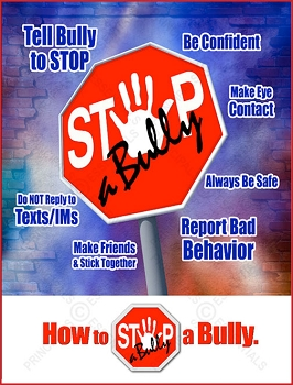 STOP-a-Bully Sign