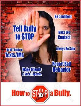 STOP-a-Bully Wall Poster