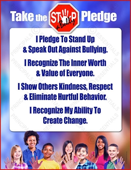STOP-a-Bully Pledge Poster