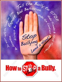STOP-a-Bully Hand Poster