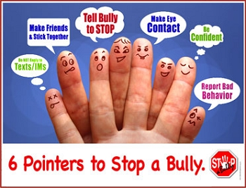 STOP-a-Bully Pointers Poster
