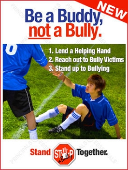Be a Buddy, not a Bully.