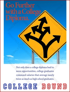 Go Further with a College Diploma.