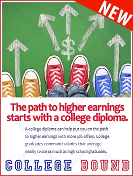 Higher Earnings College Poster