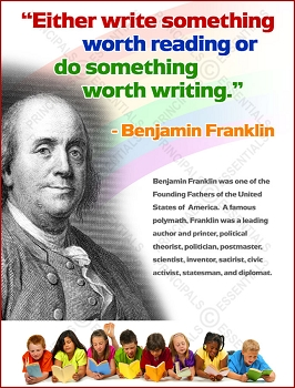Write Something Worth Reading Poster