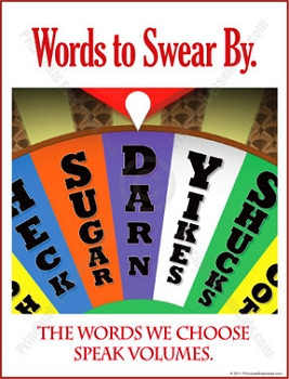Words to Swear By Poster