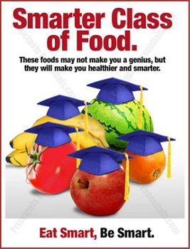 Smarter Class of Food Poster