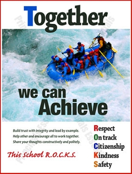 Together we can Achieve Poster